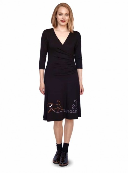 Dress Isabella Dogella Black