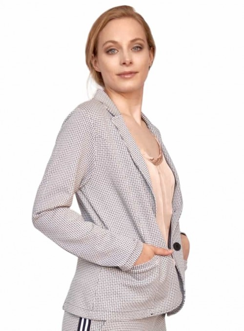 Jacket Louisa Jackson White