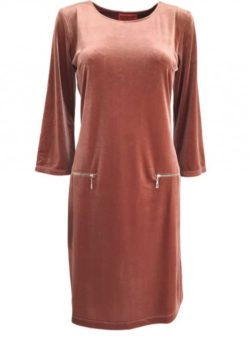 Dress Twiggy Vela Dusty Rose