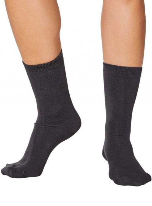 Bamboo Socks Charcoal