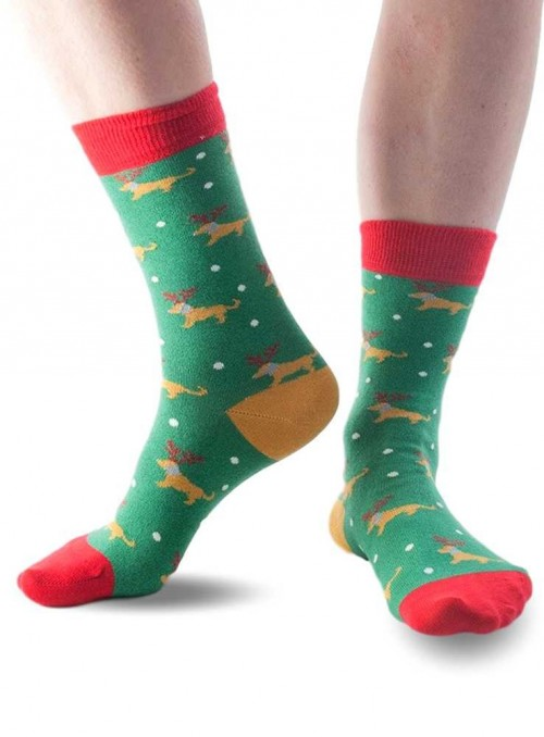 Bamboo socks Christmas Dog from Doris & Dude