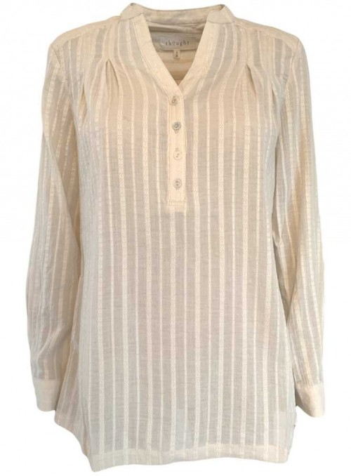 Shirt Organic Cotton Tolza white from Thought