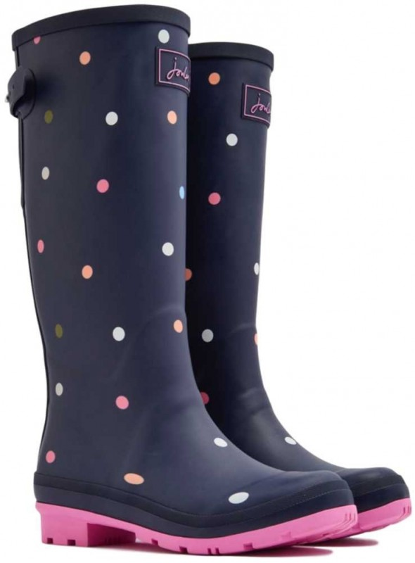 Wellies with ajustable leg Dots from Joules