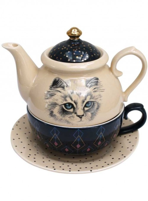 Teapot, Meow Tea for One