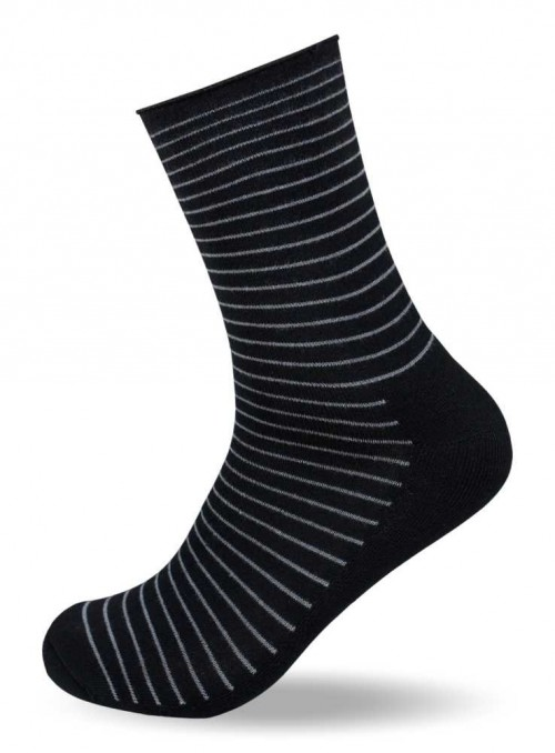 Bamboo Diabetes Socks Stripes