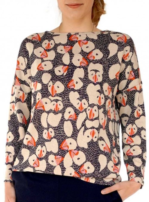 Dot & Doodle's Sweater Becky Puffin