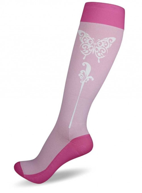 Compression Socks Butterfly