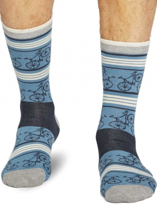 Bamboo Socks Bicycle from Thought hand linked toe