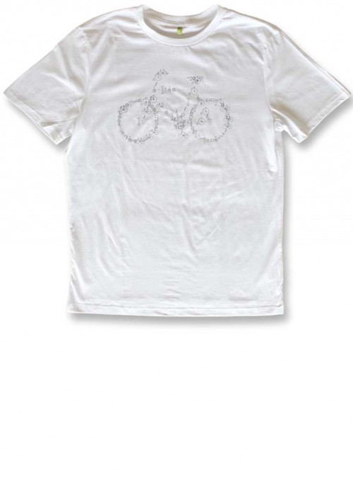 T-Shirt Organic Cotton Bike