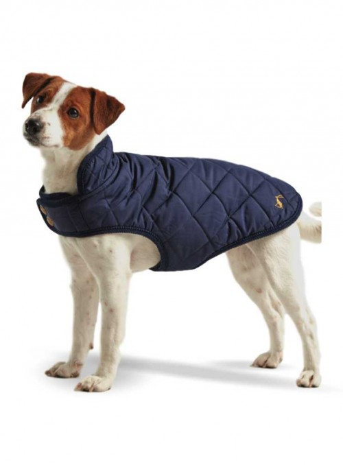 Dog Coat Newdale Navy quilted from Joules