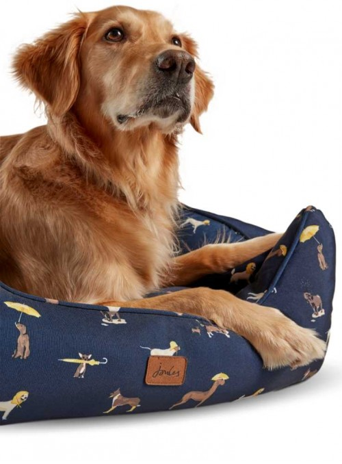 Dog Bed printed Box Bed from Joules