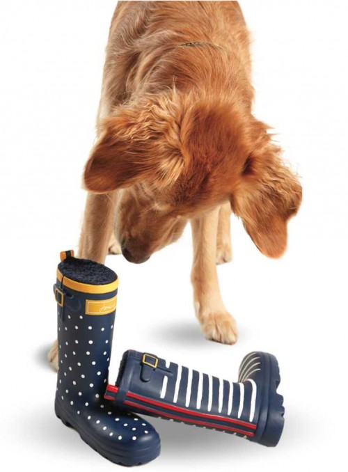 Dog Toy Welly Spotty from Joules