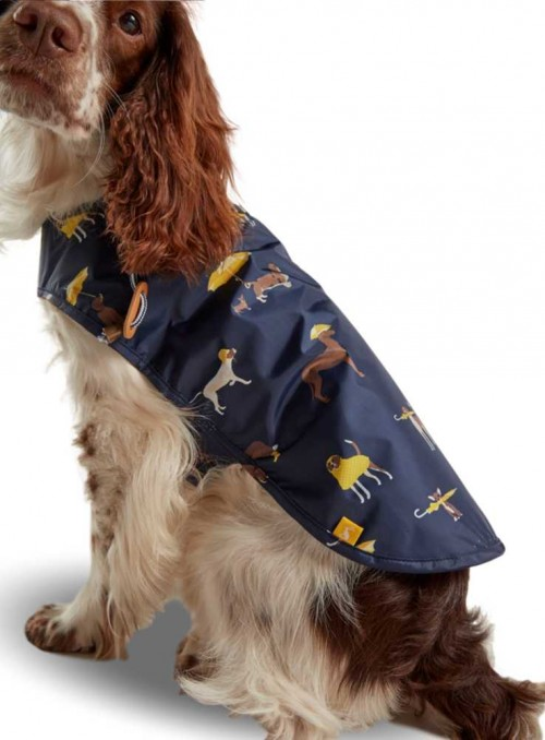 Dog Coat Printed Raincoat from Joules