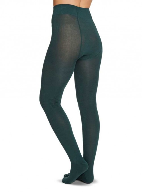 Bamboo Tights Deep Teal