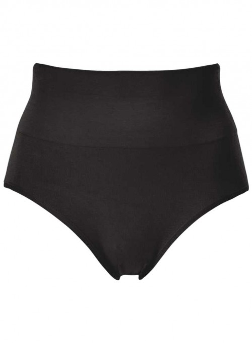 Bamboo Shape Wear Seamless Panties Black