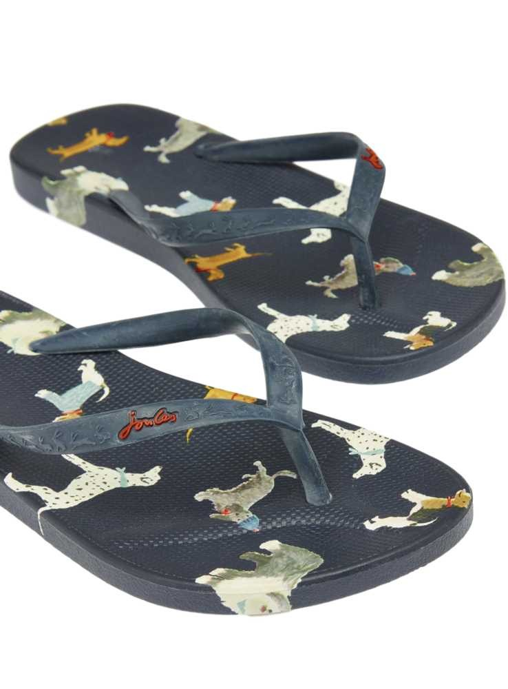 Flip Flops With Dogs From Joules - Holidaymodeeu-6947