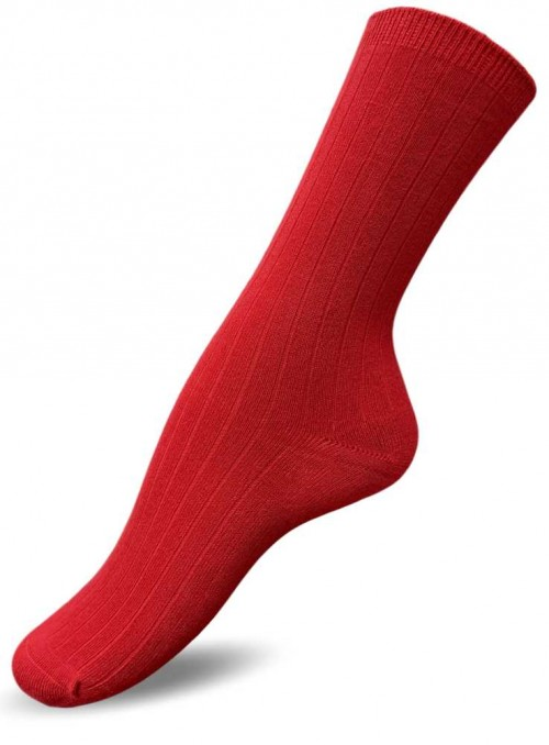 Bamboo socks Chili Red from Festival