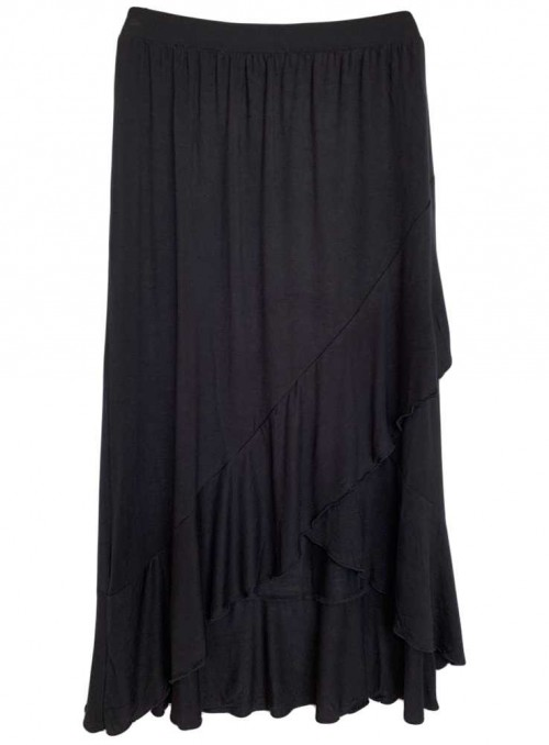 Bamboo Skirt Black