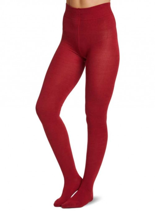 Bamboo tights Redcurrant