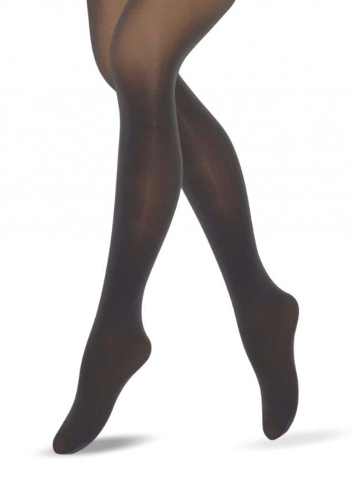 Lucy Legs Grey 3D Mikcrofiber Tights