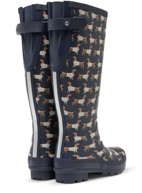 Wellies Welly Print Sausage Dog from Joules