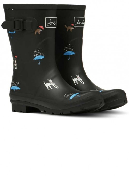 Wellies MollyWelly Black Cat Dog from Joules