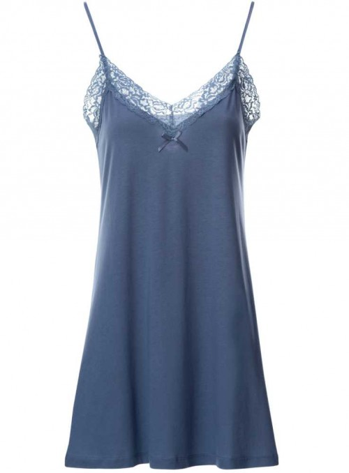 Bamboo nightgown Blue