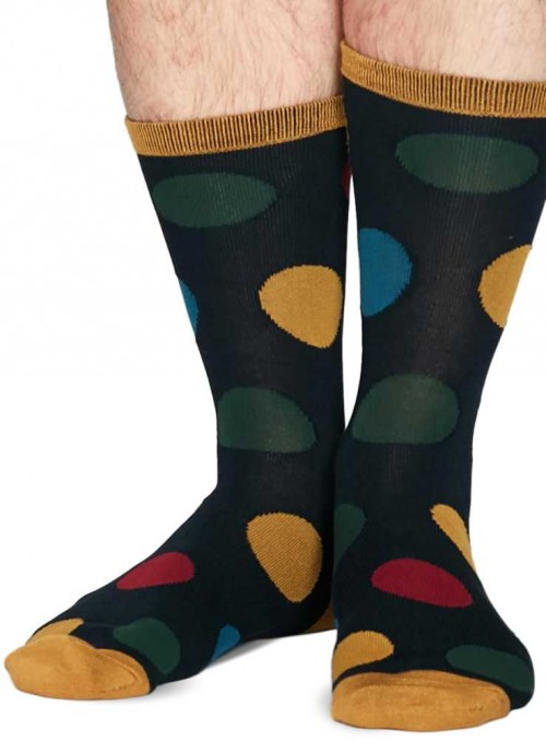 Bamboo socks big dots