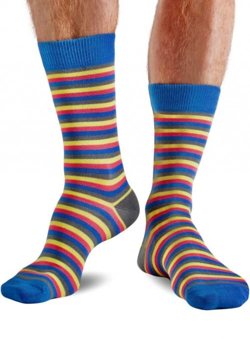Bamboo Socks mens Mini Stripe Doris & Dude