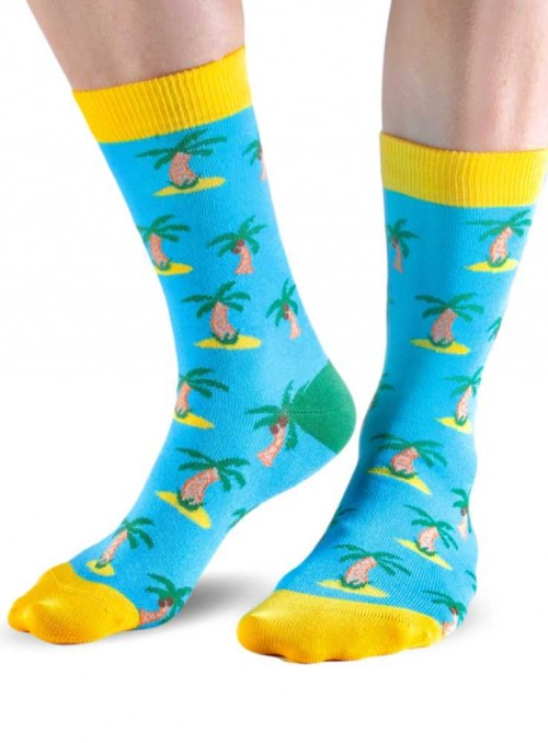 Bamboo Socks with organic cotton womens Tropical from Doris & Dude