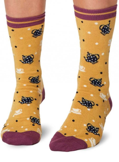 Bamboo Socks with GOTS certified cotton ,Anthea from Thought
