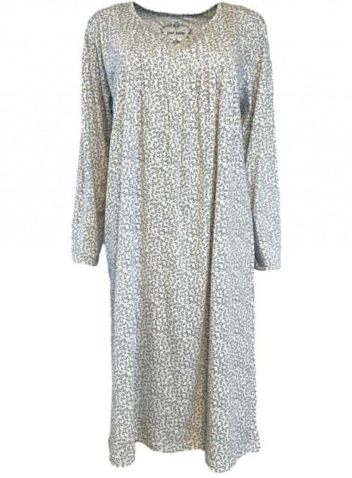 Bamboo Nightgown Long Sleeves