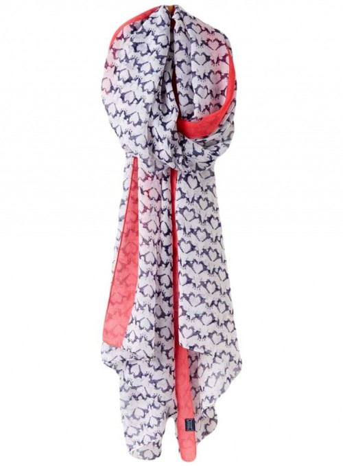 Joules scarf Fox Terrier