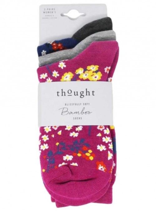 Bamboo Socks 3 Pack Socks Felice from Thought