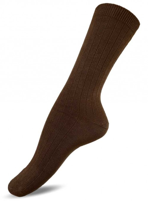 Bamboo socks Dark Brown from Festival